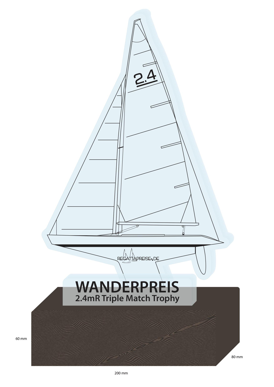 2.4mR TRIPLE MATCH TROPHY – neue Marke im deutschen Segelsport!
