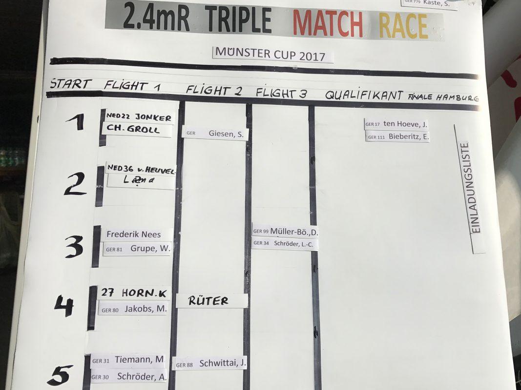 Triple Match, die zweite