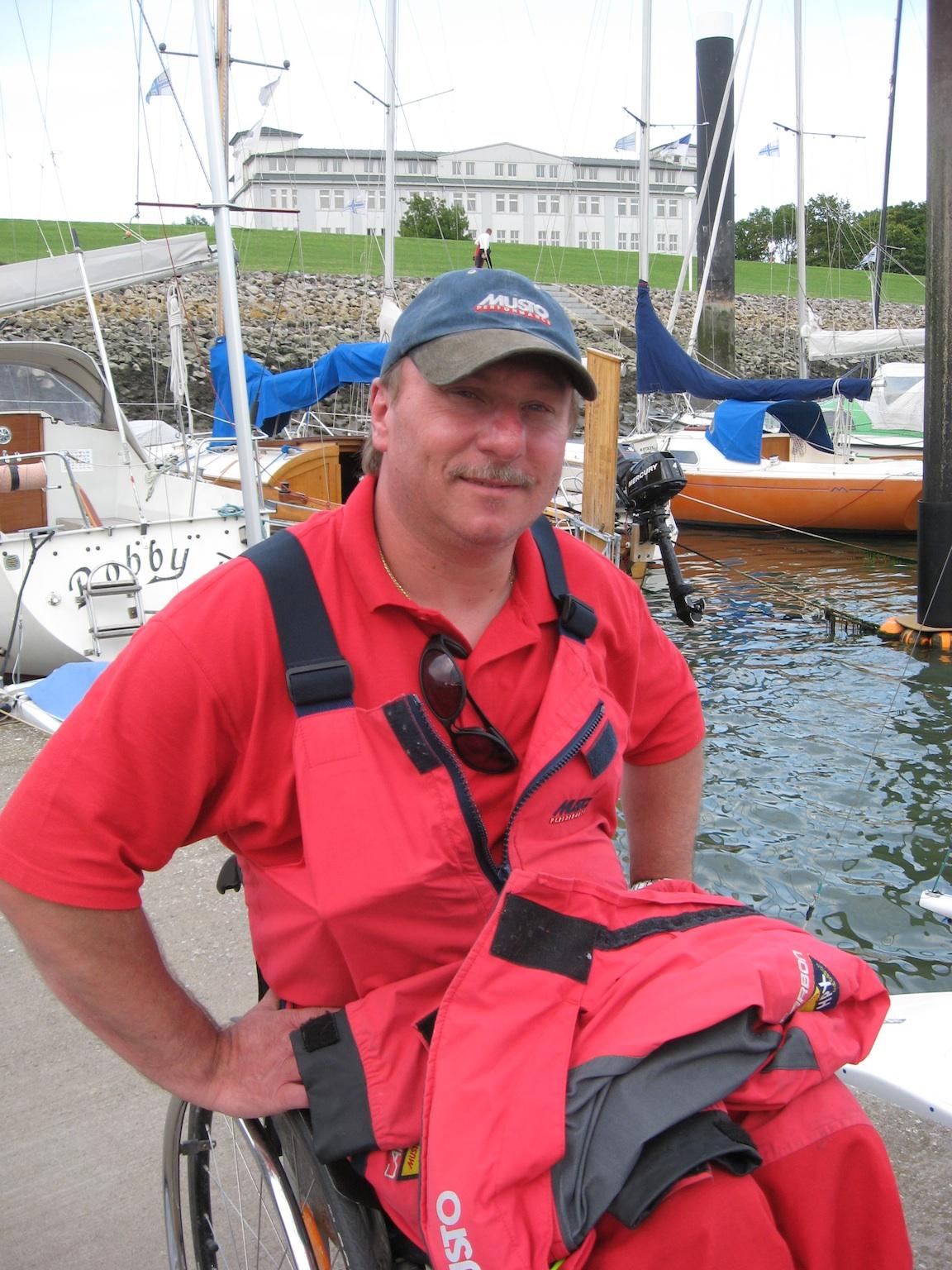 Michael Kempf verschenkt sein Boot an KV