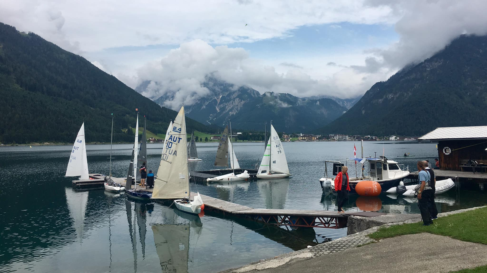 Alpencup 2019 am Achensee