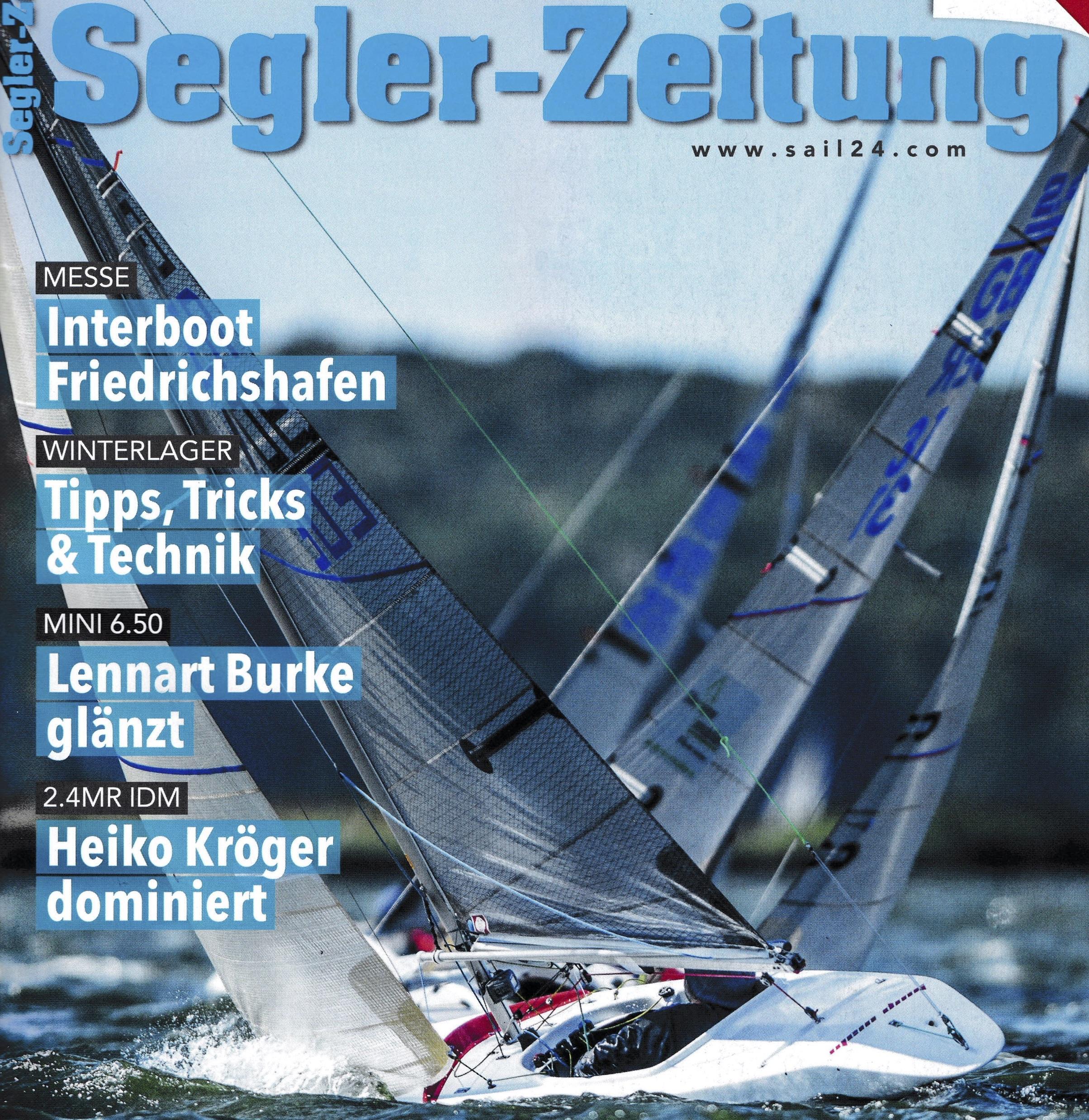 Auch die Segler-Zeitung: IDM 2020